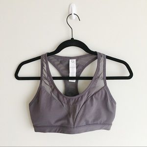 FABLETICS Cobie Sports Bra in Taupe/Grey